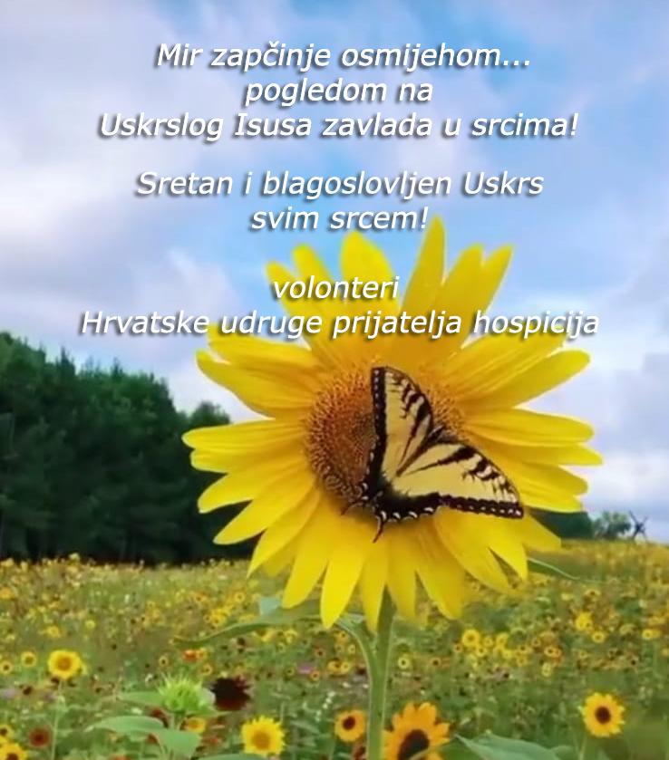 leptir Uskrs čestitka